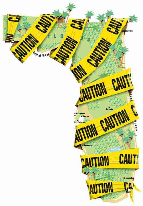 Florida caution map artBlog