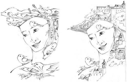 Stanislawa_retelling-birdFish_sketches